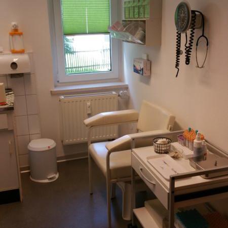 Praxis Dr. Vanryssel Behandlungsraum